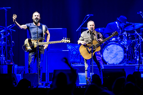 Sting en Paul Simon live in het Ziggo Dome